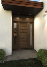 Purchase this Mahogany Wood Exterior, French/ Patio door Single Door is an excellent addition for your home Doors, Exterior Doors, Single Doors, Modern Contemporary, Paneling, French Doors Patio, Patio Doors, Modern, Single Entry Doors