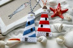 felt lighthouses