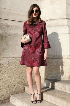 One of the top 99 street style looks from Fashion Wire Press (2013).