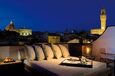 Private terrace  Penthouse Palazzo Vecchio Experience the abundance of Renaissance times and enjoy this one of a kind Penthouse suite in Florence, where all attention has been dedicated to your comfort