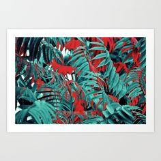 #juledecule #society6 #artprint #pattern #leaves #green #red #decoration #homeinterior #blogger #tumblr #structure #nature #popart #natur #modernartwork #new #symmetry #colors #minimal #minimalismus #birthdaygift
