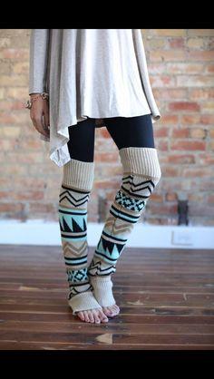 Love the leg warmers