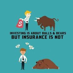 Don't get confused about Investing and Insurance .Investing helps you reach your financial goals but Insurance help you protect those goals.Plan for a healthy financial life,