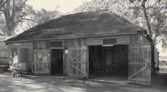 """#Stable of the Black #horse Inn. Built in 1819. When Joseph Baylis retired from the Army in 1823 he established the first inn at Penrith named """"The Depot"""" it may have looked like this inn."""