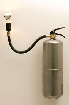 Lámpara extintor