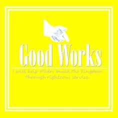Daily Progress: Good works value project