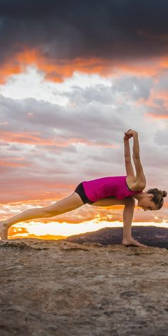 Progress beyond the basics with these advanced variations of classic yoga poses.