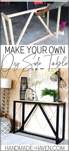 Diy Furniture Plans Wood Projects, Woodworking Furniture, Table Furniture, Home Furniture, Furniture Storage, Furniture Ideas, Diy Woodworking, Plywood Furniture, Outdoor Furniture