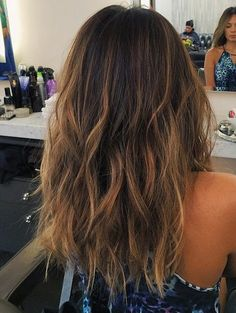Hair Color Ideas for Long Wavy Hair