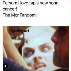 My chemical romance// My friend informed me that people actually didn't believe that it was a cover some people at my school and hers I was so upset it literally says cover on the video