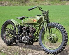 1929 Harley DL-based special, built by Jan in Norway for oval action