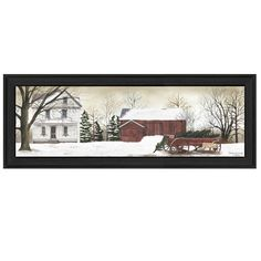 Bring the spirit of Christmas and joy into your home with this lovely and captivating winter scene, 'Christmas Trees for Sale.' The horizontal orientation gives a wide berth to enjoy more of the seasonal details of the scene.