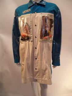 80s Kansai Yamamoto sushi  coat.