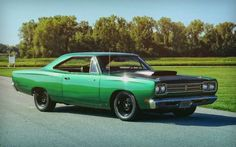 Muscle Power Idola gua 1966 plymouth Roadrunner