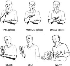 how to learn deaf sign language