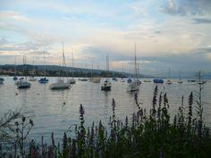 Lago de Zurich, en Suiza