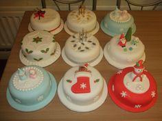 christmas cakes - christmas cakes 2010