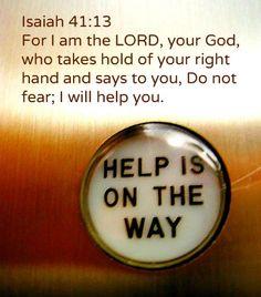 #Scripture                                      Isaiah 41:13