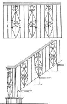 Railing Designs ISR203