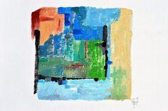 coisas de pintura:  ÓLEO SOBRE PAPEL - 2015 - PORTUGAL