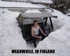 MEAN WHILE IN Finland