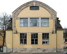 H van de Velde, Kunstgewerbeschule, aile Sud, Weimar, 1905-1906