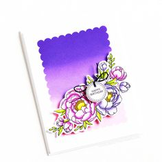 Stamps: Pick A Peony, Teeny Tags / Stencils: Scalloped & Square Love Your Smile, My Love, Clear Stamps, Peony, Stencils, Tags, Blog, Inspiration, Biblical Inspiration