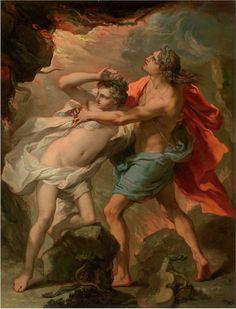 Gaetano Gandolfi, Orpheus and Eurydice, 18th century