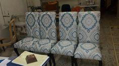 "MD TOILES NATUR SEVILLA& ZEconZeta - Sillas tapizadas con la tela ""RHIANA"" de la Colección ""UNPLUGGED"". Más Info: http://mdtoilesnatur.com/ - Calle Virgen del Valle, 40. 41011 Sevilla Spain - Tlf: 954 275 248 - email: sevilla@mdtoilesnatur.com  #telas #textil #deco #decoracion #nuevacoleccion#interiorismo #tapiceria #tendencia #fabricante#mayorista #musica #melodia #colores #ZE#ZEconzeta #fabrics #textile #Decor #newcolletion#interiordesign #upholstery #trending #maker#wholesaler #music…"
