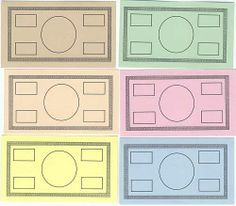 Free Printable Board Game Templates Could be used for math games ...