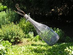 Garden sculpture | Schramsberg Vineyards | Photo by Jeff Fisher