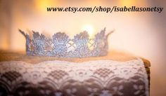adorable crown for a little girl #photoshoot #princess #crown #whimsical  www.etsy.com/shop/isabellasonetsy
