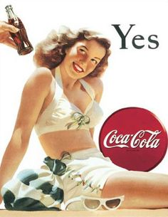 Coca-Cola Tin Sign vintage art ads pin up girl Coca Cola Vintage, Vintage Tin Signs, Coca Cola Poster, Coca Cola Ad, Always Coca Cola, Poster Ads, Vintage Advertisements, Vintage Ads, Vintage Posters