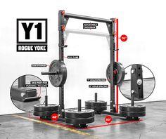 Y-1 Rogue Yoke - Weight Training - CrossFit