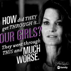 Pretty Little Liars PLL mums putting them selves in the girls shoes Pretty Little Liars Quotes, Pretty Litle Liars, Little Things Quotes, Best Tv Shows, Best Shows Ever, Favorite Tv Shows, Abc Family, Family Show, A Pll