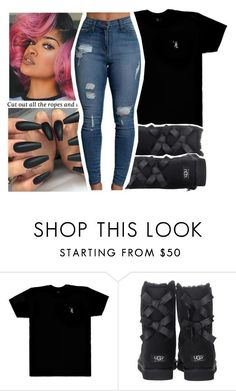 """""""12 17 16 (U G G ❄)"""" by purplequeen04 ❤ liked on Polyvore featuring October's Very Own and UGG Australia"""