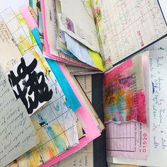 Salvaged Journals by Roben-Marie Smith #artjournaling #mixedmedia #journals #salvagedjournal