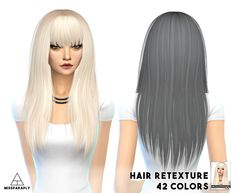 Miss Paraply: Alesso`s Heartbeat hairstyle retextured - Sims 4 Hairs - http://sims4hairs.com/miss-paraply-alessos-heartbeat-hairstyle-retextured/