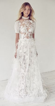 Featured Dress: Suzanne Harward; Wedding dress idea.