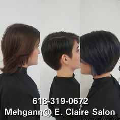 Sassy cut and color by Mehgann at E. Claire Salon!