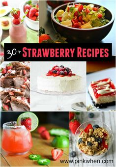If you are looking for some amazing ideas to use Strawberries with, then save this pin for a little Strawberry inspiration.