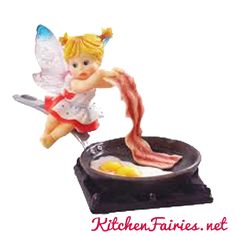Bacon & Eggs Fairie - From Series Twenty of the My Little Kitchen Fairies collection
