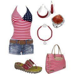 Cute 4th of July outfit :)