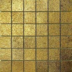 #Settecento #Musiva Oro 4,5x4,5 auf Netz 28,6x28,6 cm 100704 | Glass auf Feinsteinzeug | im Angebot auf #bad39.de 368 Euro/qm | #Mosaik #Bad #Küche