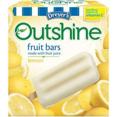 Dreyer's Outshine Lemon Fruit Bars. These used to be Edy's but were bought out and the name changed. Before the change they were approved. The new company will not work with Feingold. Ingredients do not seem to have changed.