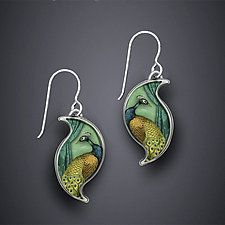 Silver Earrings by Dawn Estrin
