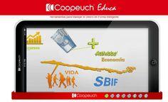 """Plataforma virtual """"Herramientas para usar mi dinero en forma inteligente"""" - Portal Coopeuch Educa."""