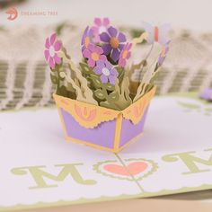 Mother's Day Pop Up Card SVG