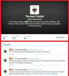 Tenney Family   on Twitter @TenneyFamily Aids In Africa, Massachusetts Bay Colony, American Story, Genealogy, Netherlands, Twitter, The Nederlands, The Netherlands, Holland
