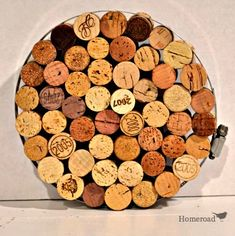 Pumpkin Wine Cork Trivet Pumpkin Wine, Pumpkin Uses, Wine Cork Trivet, Wine Cork Crafts, Home Crafts, Diy And Crafts, Diy Projects To Try, House Projects, Decoration